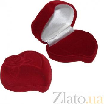 Подарочная упаковка из бархата для кольца Роза