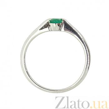 Серебряное кольцо с изумрудом Файна ZMX--RE-6002-Ag_K