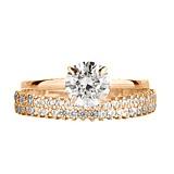 Золотое кольцо с фианитами Валенсия