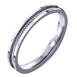 Золотое обручальное кольцо, 2,5мм 000007374