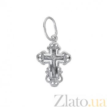 Крестик из серебра Добродетель HUF--3452-Ч