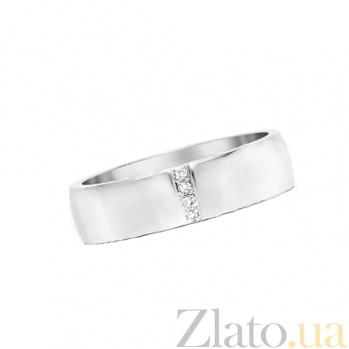 Золотое обручальное кольцо с топазами Женева 30348st