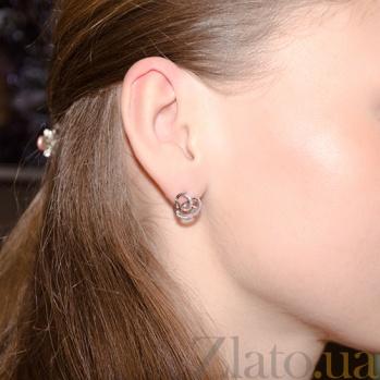 Серьги с бриллиантами Миранда SG--47050200