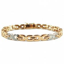 Золотой браслет с бриллиантами Вираж