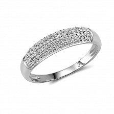 Кольцо из белого золота Ума с бриллиантами
