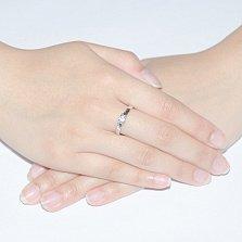 Кольцо из белого золота с бриллиантами Карера ин Карера