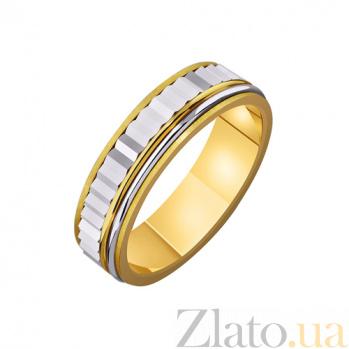 Золотое обручальное кольцо Единственное желание TRF--4411421