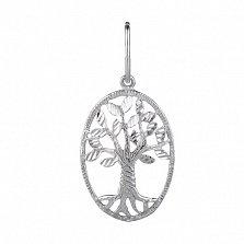 Серебряный кулон Древо жизни