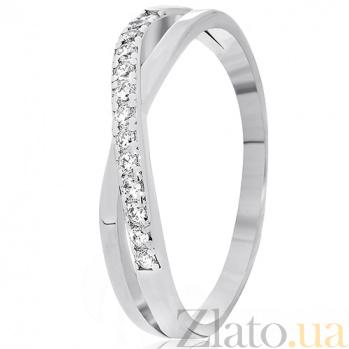 Кольцо из серебра Кларелис с цирконием 000030946
