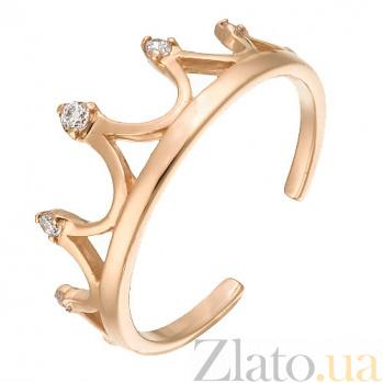 Золотое кольцо Антуанетта SVA--1101215101/Фианит/Цирконий