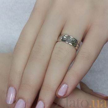 Серебряное кольцо Властелин колец 2100337