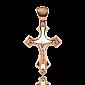 Золотой крестик Solomia с бриллиантами PRT--C000-7