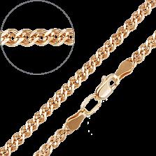 Золотой браслет Беатриче в изящном плетении нонна