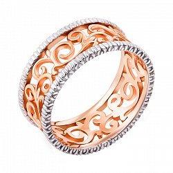 Обручальное кольцо в комбинированном цвете 000006312