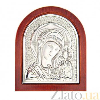 Икона серебряная Казанской Божьей Матери AQA--08112111