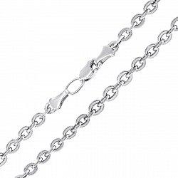Серебряная цепочка якорного плетения, 4 мм 000118268