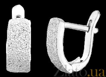 Серебряные сережки Альжбета SLX--С2/101