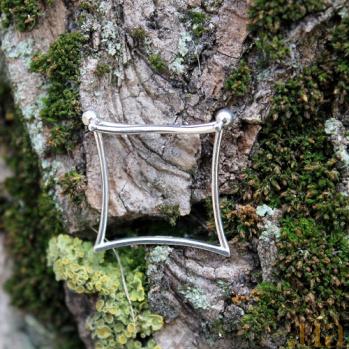 Серебряное кольцо Couple Couple