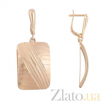 Золотые серьги Деметра ONX--с02262
