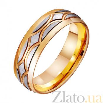 Золотое обручальное кольцо Волшебство любви TRF--411441