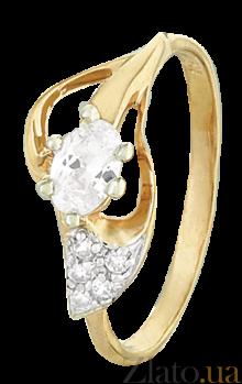 Серебряное кольцо с фианитами Асвейг 000025653