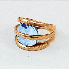 Золотое кольцо с топазом Сюрприз