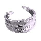 Серебряное кольцо Перышко