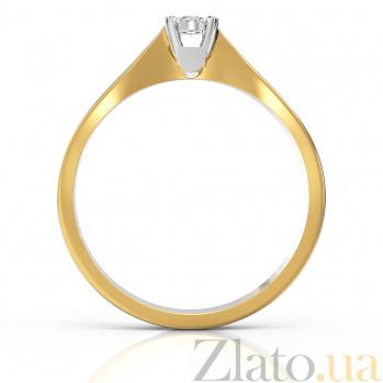 Золотое кольцо с бриллиантом Чародейка VLA--15350
