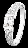 Серебряное кольцо с фианитом Фиделия