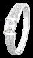 Серебряное кольцо с фианитом Фиделия 000025712