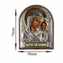 Икона Казанская Божья Матерь, 58х75мм