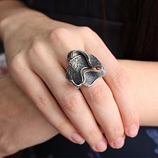 Серебряное кольцо Лента