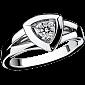 Кольцо в белом золоте Dream & Love R-BDL-W-diam