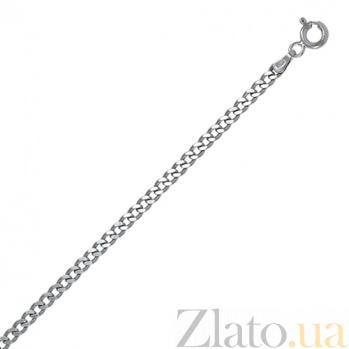 Серебряная цепь Арес, 60 размер 000027606