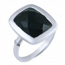Кольцо из серебра Ингрет с ониксом