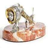 Серебряная визитница В поисках Бохо