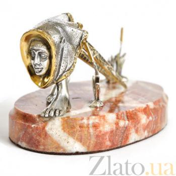 Серебряная визитница В поисках Бохо 994