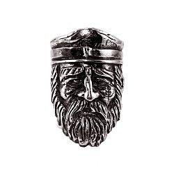 Кольцо из серебра Shellback с чернением 000091433