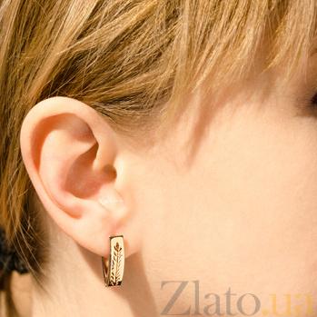 Сережки из красного золота Камила TNG--470332