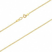 Золотая цепочка в евро цвете Адайн