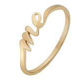 Кольцо из красного золота Me