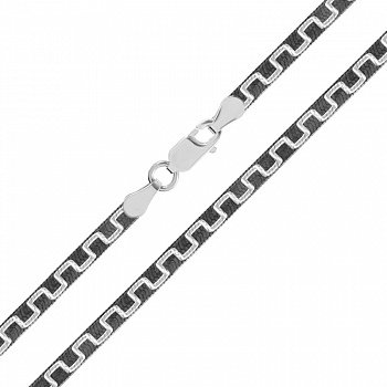 Срібний ланцюг з чорнінням, 2мм 000026369