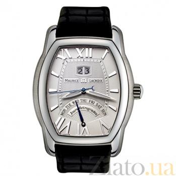 Часы Maurice Lacroix коллекции Jours Retrogrades Tonneau MLX--MP6119-SS001-11E