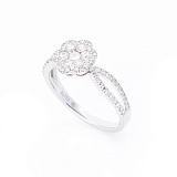Золотое кольцо Клеменс с бриллиантами