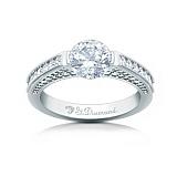 Золотое кольцо с топазом и бриллиантами Живой ручей