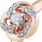 Золотое кольцо с бриллиантами Летисия KBL--К1999/крас/брил