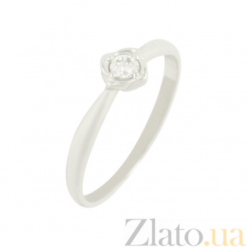 Золотое кольцо с фианитом Грета 2К220-0254