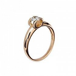Кольцо с бриллиантом Идиллия
