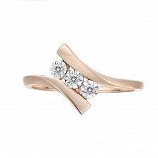 Кольцо из золота с бриллиантами Бьянка