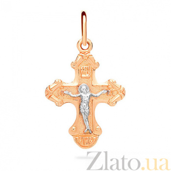 Золотой крестик Животворящий SUF--501584
